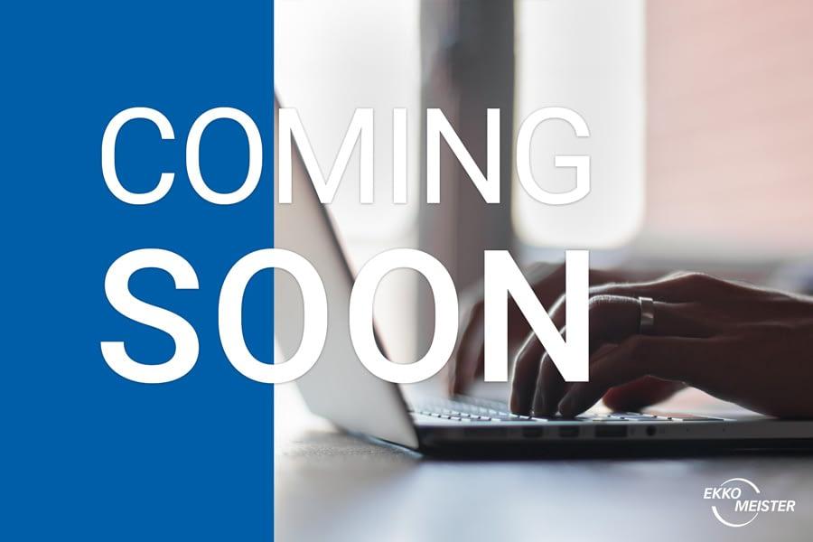 Coming soon: The Ekko-Meister Online Shop