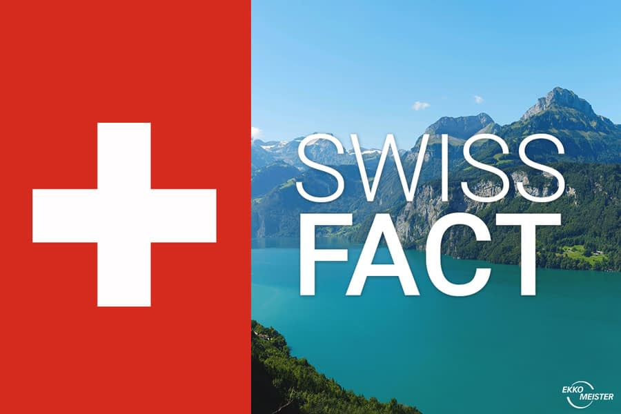 Swiss Fact - Switzerland a country of lakes