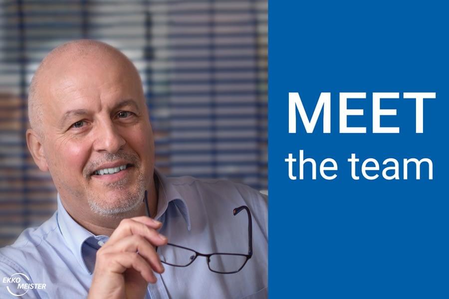 Meet the EKKO-MEISTER Team Pius Weber