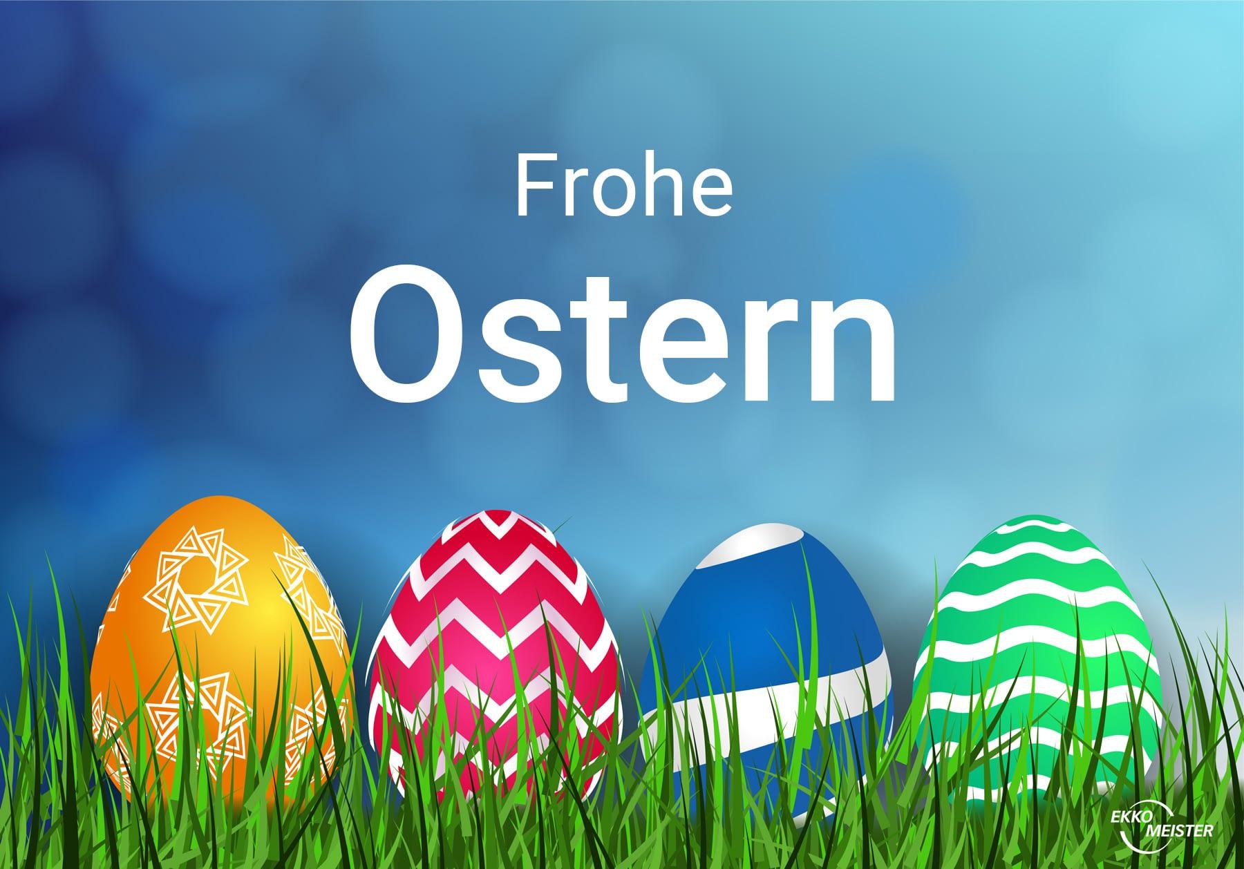 Frohe Ostern und Schokoladen Fakten